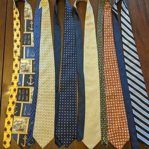 Vintage Tommy Hilfiger ties bundle of 6
